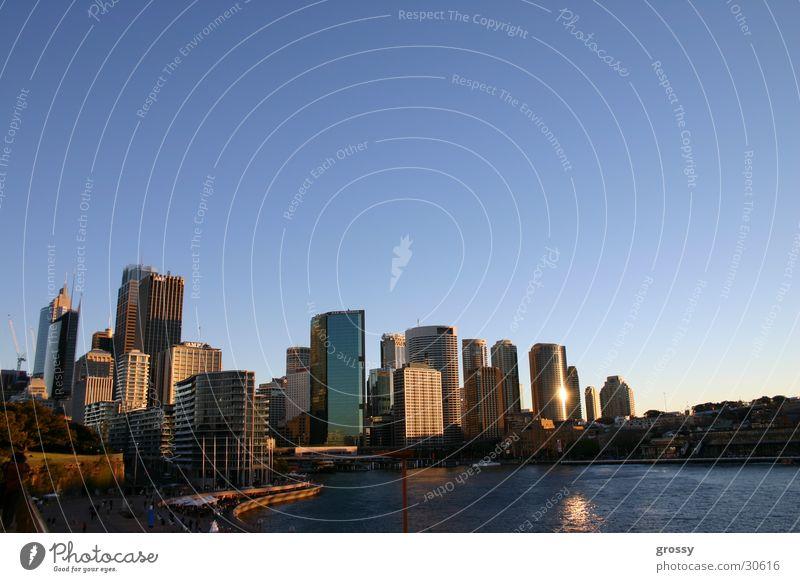 sydney harbour Himmel blau Stadt Skyline Sydney