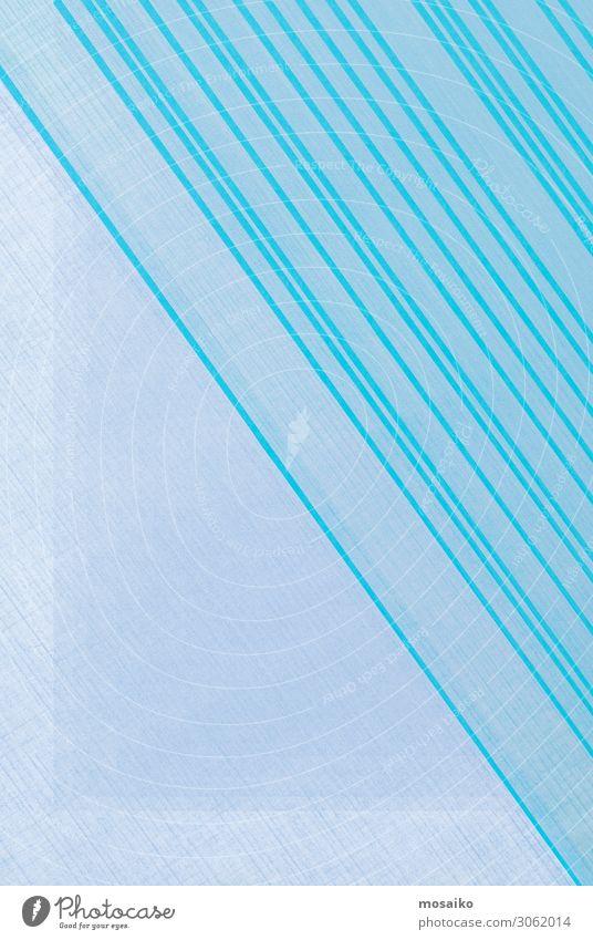blaue Linien auf Hellblau Lifestyle elegant Stil Design Freude Glück schön Wellness Leben harmonisch Wohlgefühl Zufriedenheit Sinnesorgane Erholung ruhig