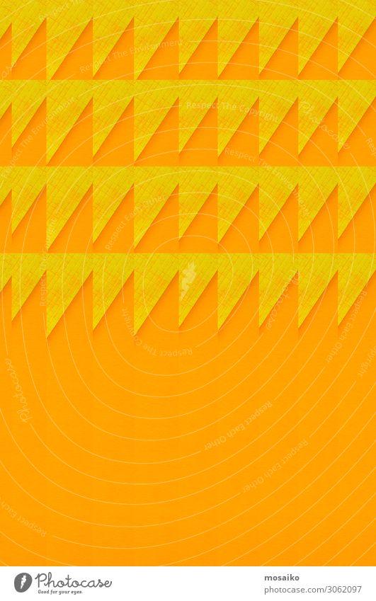 Graphisches - gelb und orange Lifestyle elegant Stil Design Freude Entertainment Party Veranstaltung Feste & Feiern Kunst Angst Platzangst Stress Farbe