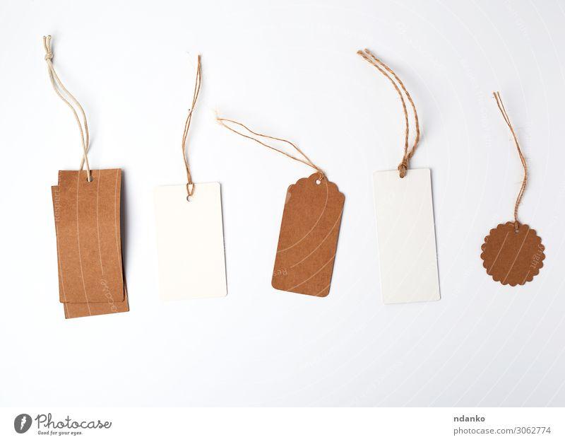 runde und rechteckige Preisschilder aus Braun kaufen Handwerk Business Seil Papier Verpackung Schnur hängen verkaufen natürlich oben braun weiß Adresse
