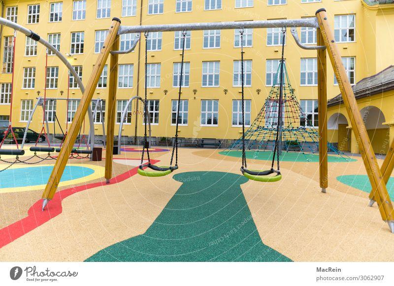 Kinderspielplatz Fitness Sport-Training Sportstätten kinderspielplatz Kindergarten Schulhof Spielplatz Spielzeug Abenteuer anstrengen Zufriedenheit Fürsorge