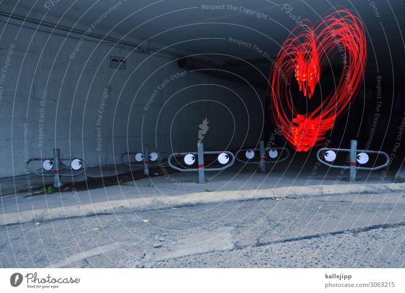 und mein herz macht bum, bum schön rot dunkel Auge Liebe lustig Sex Herz Zeichen Hochzeit Symbole & Metaphern Straßenkunst Valentinstag Fan Neid Lichtmalerei