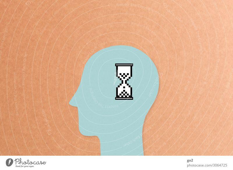 Loading... Mensch Zeit Schule Kopf Arbeit & Erwerbstätigkeit Kommunizieren Telekommunikation Computer lernen warten Idee Studium Grafik u. Illustration Zeichen
