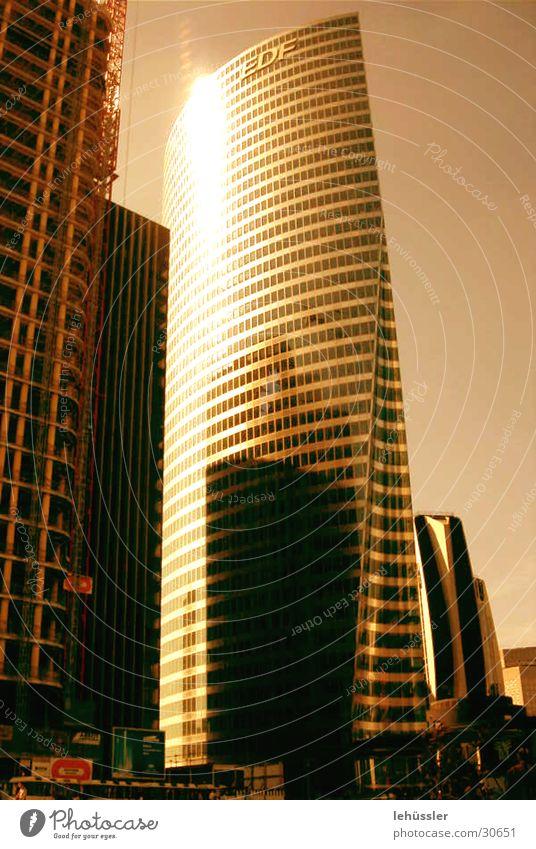 paris_grand arche Sonne Stadt Gebäude Metall Architektur Hochhaus modern Paris