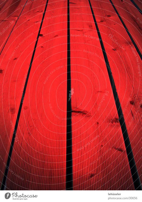 in blut getränkt rot Holz Perspektive Freizeit & Hobby Steg Astloch