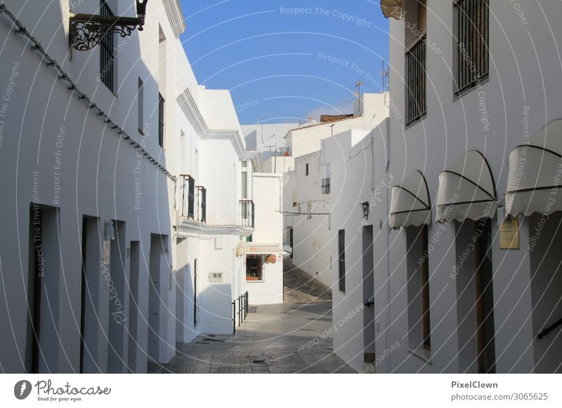 Andalusien Lifestyle Ferien & Urlaub & Reisen Tourismus Ausflug Sightseeing Städtereise Sommerurlaub Häusliches Leben Wohnung Baustelle Kleinstadt Altstadt