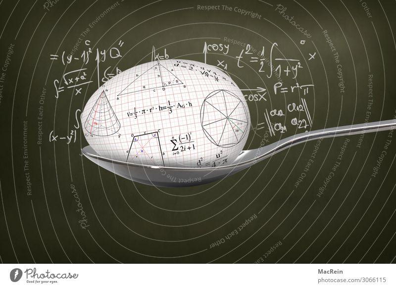 Reinlöffeln Löffel Bildung Wissenschaften Schule lernen Tafel Studium Prüfung & Examen Zeichen Ziffern & Zahlen schreiben Idee Kreativität Formel Geometrie