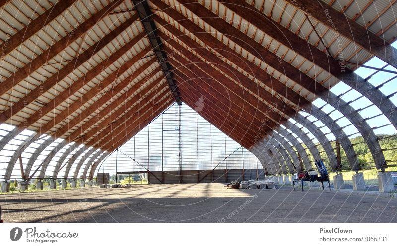 Halle Lifestyle Ferien & Urlaub & Reisen Ausflug einrichten Innenarchitektur Güterverkehr & Logistik Menschenleer Industrieanlage Bauwerk Gebäude Architektur