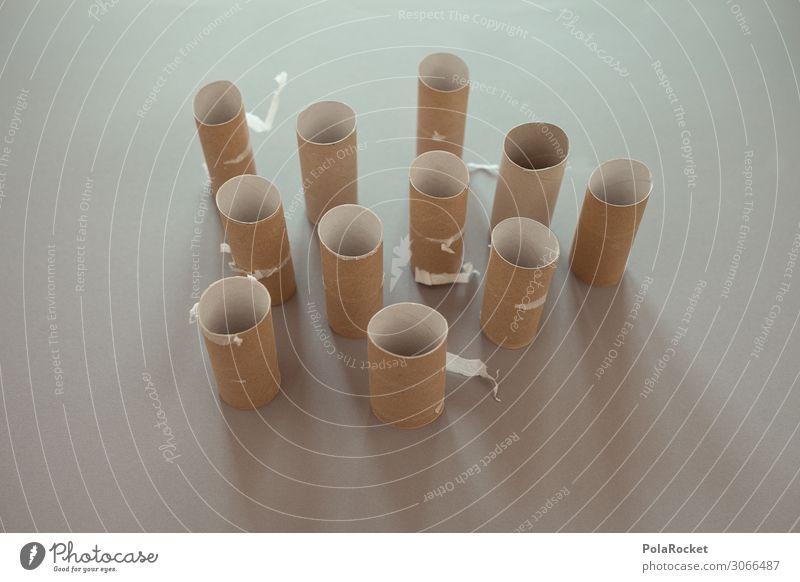 #A# Curry von Mutti Kunst Kunstwerk ästhetisch Toilettenpapier Klopapierhalter leer ausdruckslos Menschenleer Leerstand Leerfahrt Durchfall Recycling viele