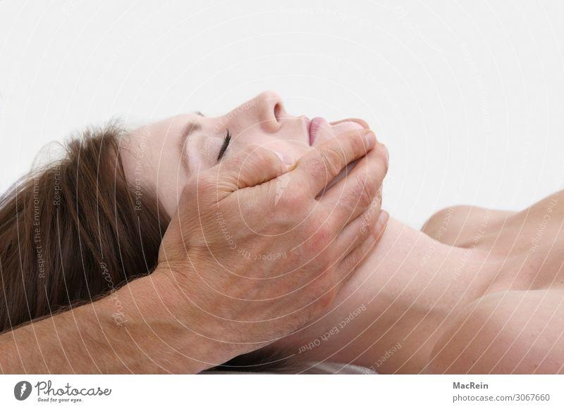 Akupressur Gesundheit Gesundheitswesen Behandlung Alternativmedizin Krankheit Wellness Wohlgefühl Erholung ruhig Massage feminin Junge Frau Jugendliche