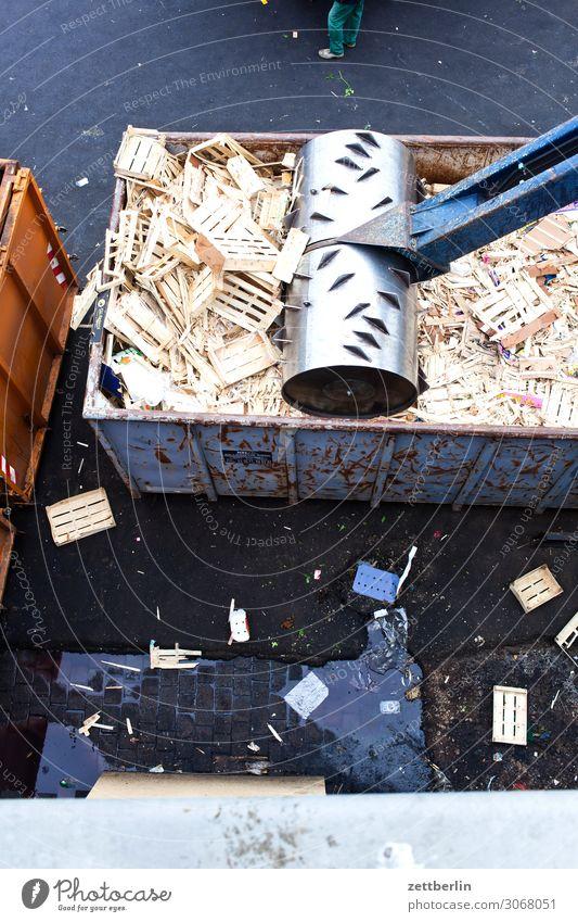 Sekundärrohstoff Industrie Rohstoffe & Kraftstoffe Holz Presse Schrottpresse Sägewerk altstoff Recycling Vorbereitung Reibeisen Container Recyclingcontainer