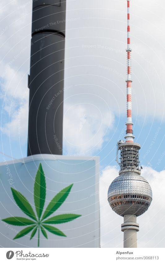 Legalize Berlin ! Berlin-Mitte Hauptstadt Stadtzentrum Fernsehturm Berliner Fernsehturm Rauchen Ferien & Urlaub & Reisen Ärger Erfahrung Freude Freundschaft