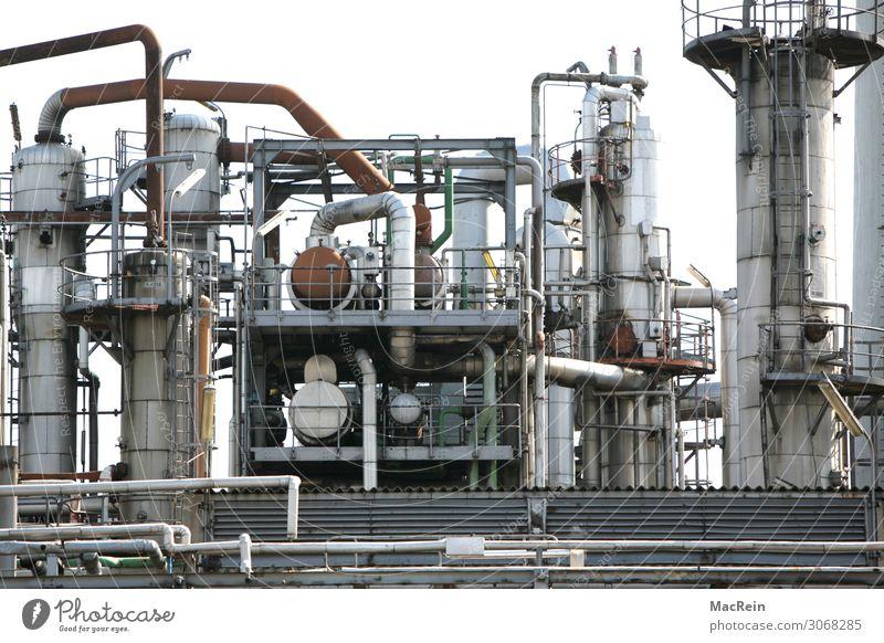 Raffinerie Anlage Industrie Industrieanlage Umweltverschmutzung Industriefotografie Industriebetrieb Rohrleitung Gas Erdölpipeline Farbfoto Außenaufnahme