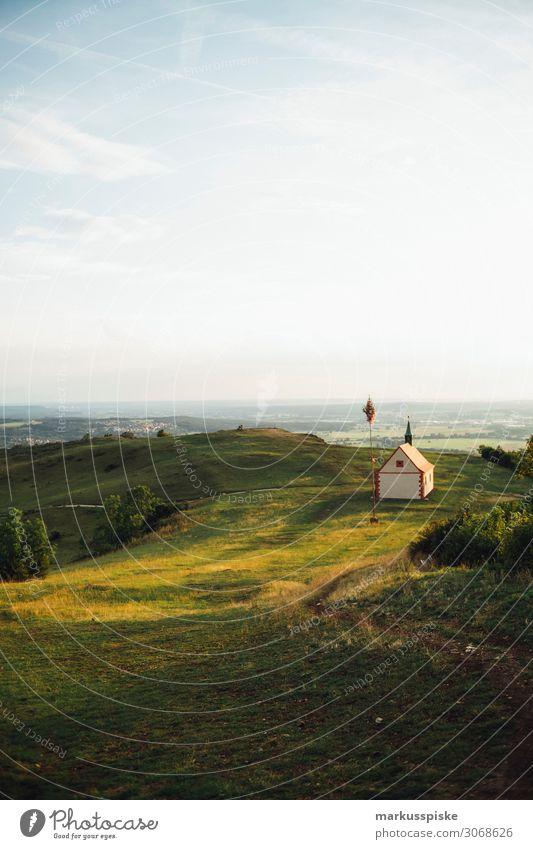 walburgiskapelle, Ehrenbürg Ferien & Urlaub & Reisen Tourismus Ausflug Ferne Freiheit wandern Natur Landschaft Sommer Schönes Wetter Berge u. Gebirge