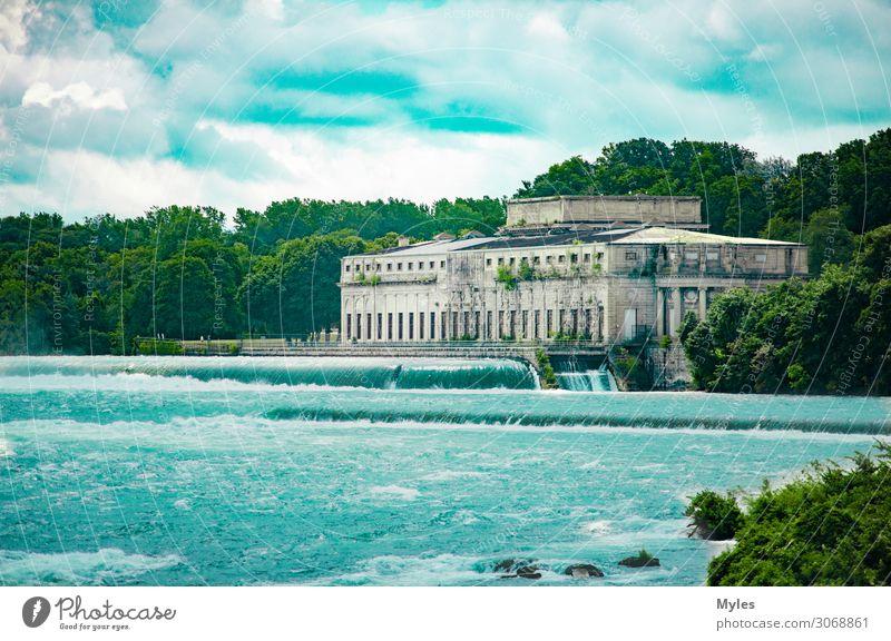 Niagarafälle Gebäude Umwelt Landschaft Park Wald Urwald Felsen Wellen Küste Seeufer Flussufer Strand Bucht Insel Wasserfall Fabrik Ruine Bahnhof Observatorium