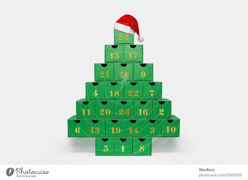 Adventskalender Handarbeit Weihnachten & Advent Natur Kasten retro gebastelt gefüllt natürlich selbstgemachtkalender Karton kästchen pyramide Schachtel
