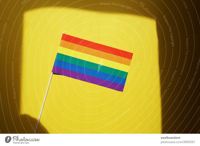Regenbogenflagge Kultur Subkultur Veranstaltung Zeichen Fahne Freiheit Frieden gleich Identität einzigartig Sex Sexualität Stolz regenbogenfarben mehrfarbig