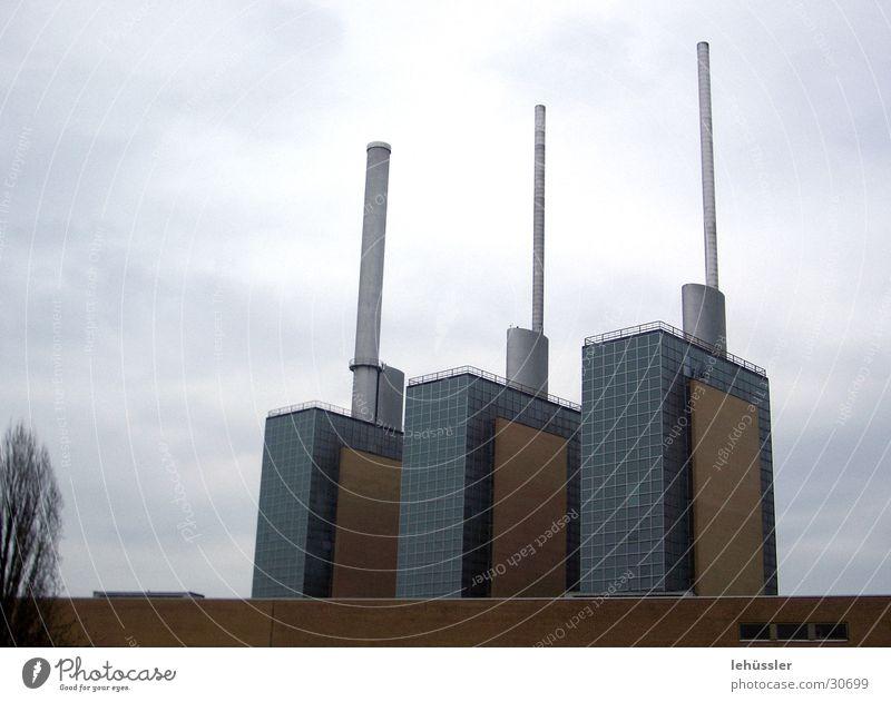 die drei türme Architektur 3 Industriefotografie Turm Schornstein Hannover