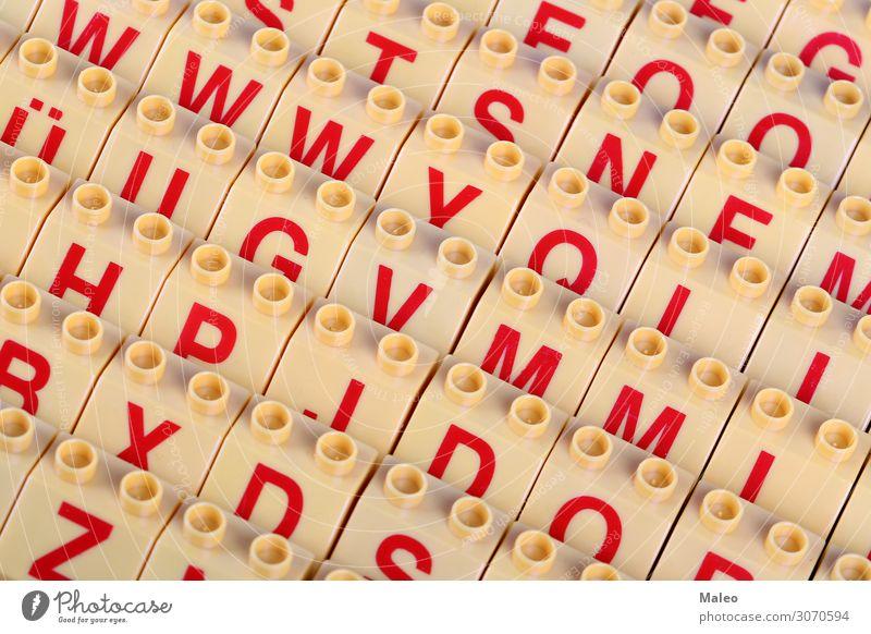 Buchstaben Hintergrund Hintergrundbild Design Lateinisches Alphabet Bildung Kreativität Konzepte & Themen Freude mehrfarbig Block Farbe Erfinden Entwicklung