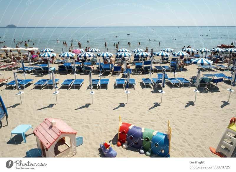 vamos a la playa Freizeit & Hobby Spielen Ferien & Urlaub & Reisen Tourismus Ferne Sommer Sommerurlaub Sonne Sonnenbad Strand Meer Insel Wellen maskulin feminin