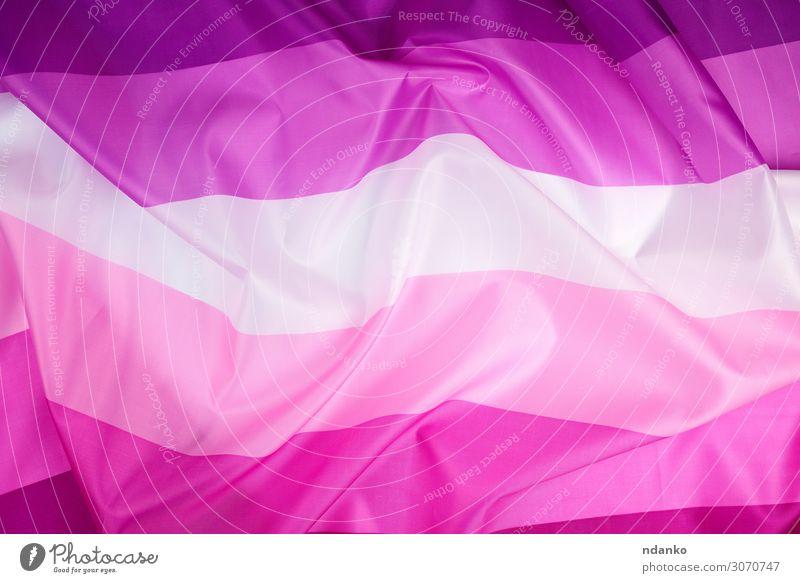 textile rosa Fahne von Lesben Lifestyle Freiheit Homosexualität Partner Kultur Liebe violett rot weiß Freundschaft Toleranz Partnerschaft Farbe purpur Stolz