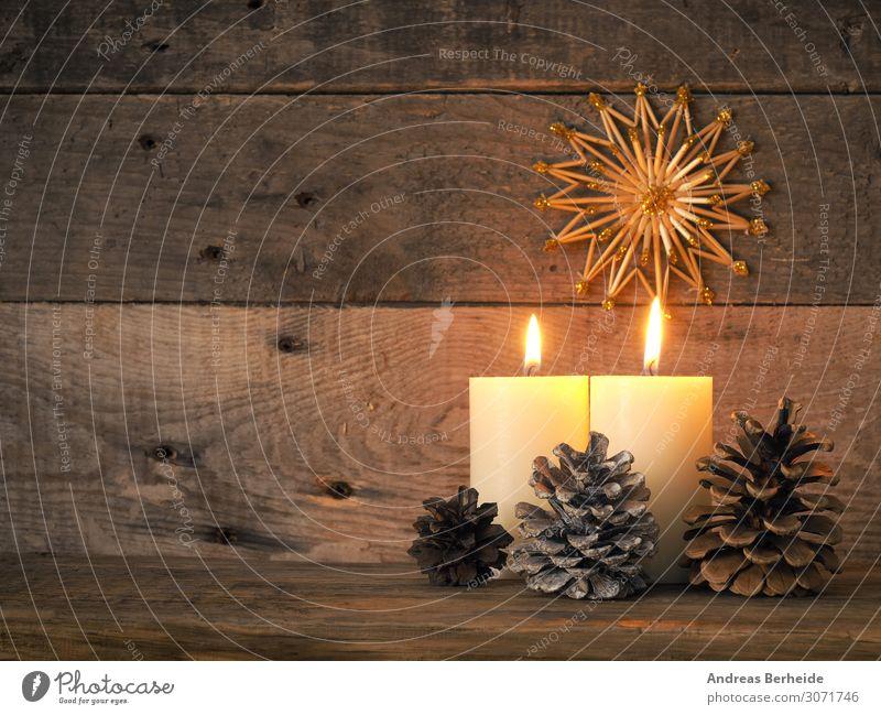 Zweiter Advent Winter Weihnachten & Advent Dekoration & Verzierung Kerze Tradition second fur glitter golden greeting happy holiday instrument joy lights merry