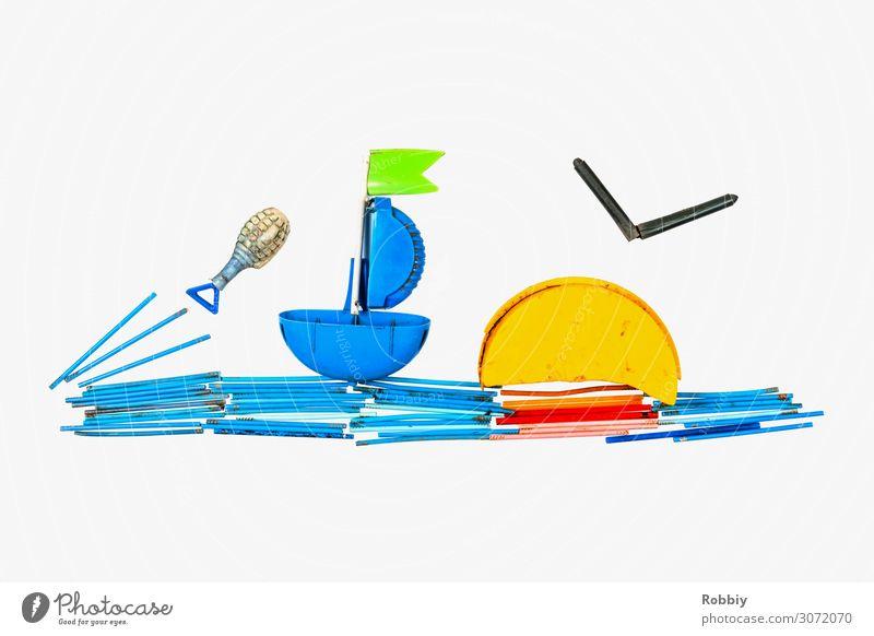 TrashArt IV – Segelschiffahrt Meer Umwelt Umweltverschmutzung Statue Kunststoff Kunststoffmüll Recycling Schifffahrt Ferien & Urlaub & Reisen Wasserfahrzeug