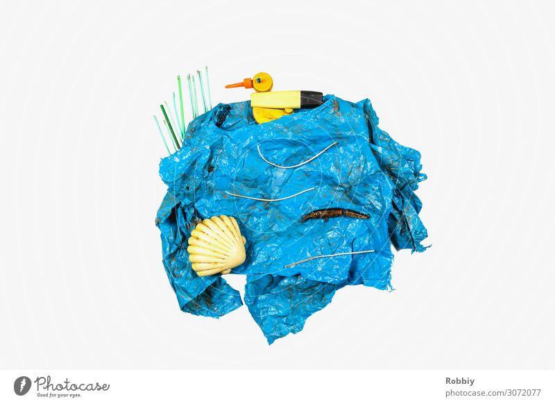 TrashArt VI – Teich Küste Seeufer Umwelt Umweltverschmutzung Umweltschutz Kunststoff Kunststoffmüll Kunststoffverpackung Recycling dreckig Ente Wasser Natur
