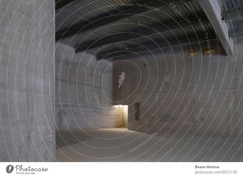 Architektur Stil Design Haus Hausbau Baustelle Kunst Bauwerk Gebäude Mauer Wand Tür Beton Arbeit & Erwerbstätigkeit wählen Denken entdecken ästhetisch