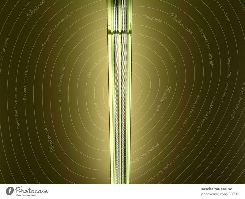 Leuchtstreifen weiß grün schwarz gelb Lampe grau Linie Zufriedenheit hell Beleuchtung Glas modern Technik & Technologie Dekoration & Verzierung Streifen
