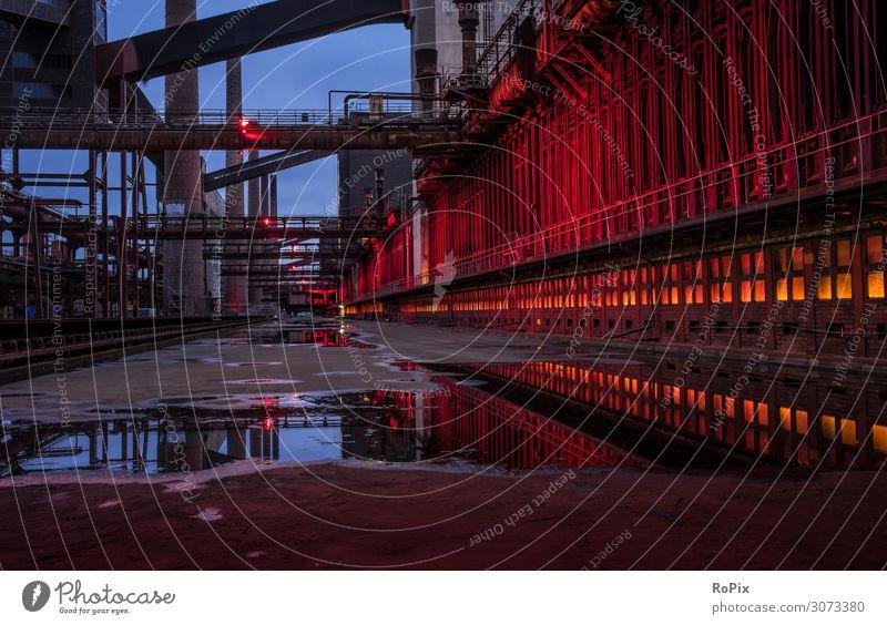 Zeche Zollverein Lifestyle Stil Ferien & Urlaub & Reisen Tourismus Sightseeing Städtereise Wissenschaften Arbeit & Erwerbstätigkeit Beruf Arbeitsplatz Fabrik