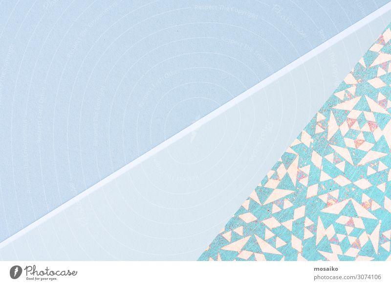 Papierbögen - Pastelltöne - Muster Lifestyle elegant Stil Design Freude schön Wellness Leben harmonisch Wohlgefühl Zufriedenheit Sinnesorgane Erholung