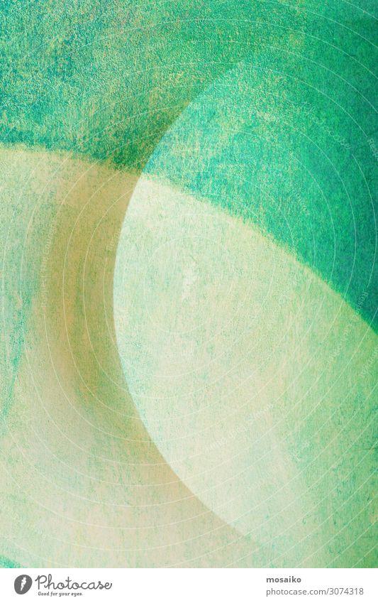 Kreisrund - grafische Formen - grüne Pastelltöne Lifestyle kaufen elegant Stil Design Freude Wellness Wohlgefühl Dekoration & Verzierung Kunst retro Farbe