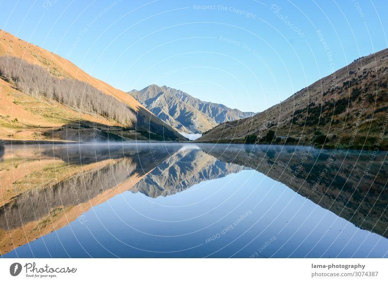 Lake Kirkpatrick Ferien & Urlaub & Reisen Tourismus Ausflug Abenteuer Ferne Freiheit Camping Berge u. Gebirge Natur Landschaft Wasser Himmel Wolkenloser Himmel