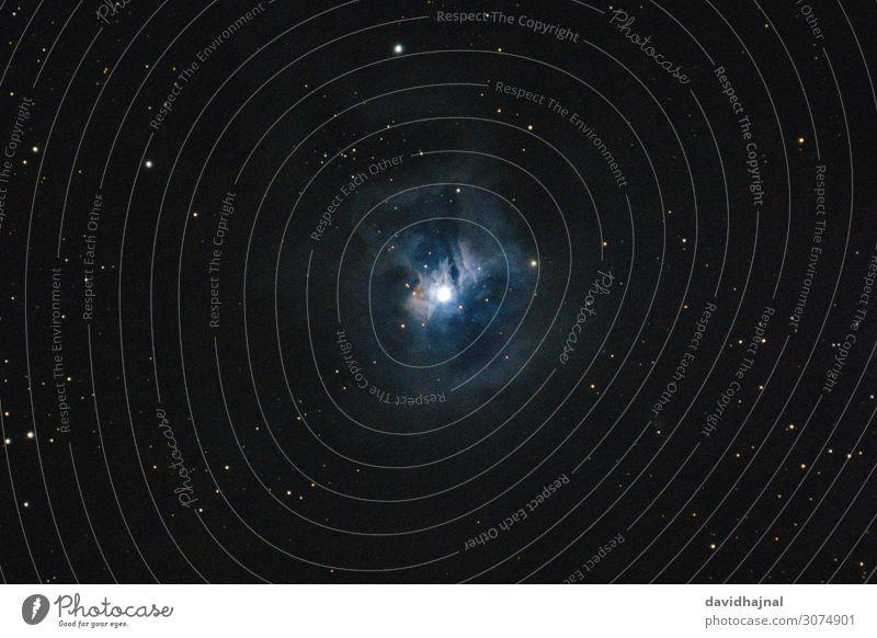 Irisnebel NGC 7023 Teleskop Technik & Technologie Wissenschaften Fortschritt Zukunft High-Tech Astronomie Umwelt Natur Himmel nur Himmel Wolkenloser Himmel