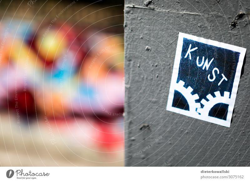 Kunst Jugendkultur Subkultur Stadt Kultur Graffiti Großstadt schön mehrfarbig Kreativität Farbfoto Außenaufnahme Tag