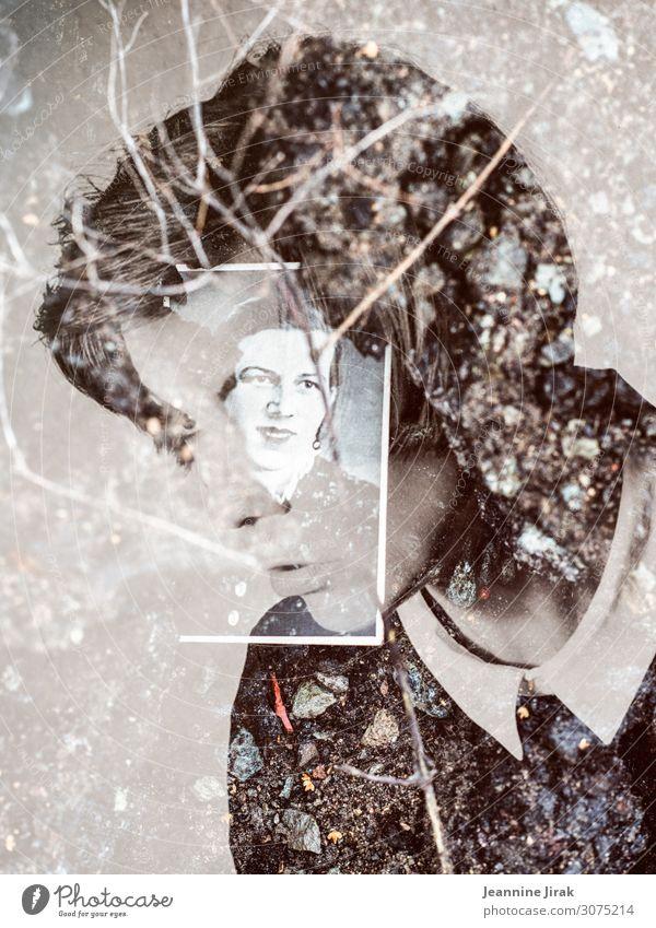 Erinnerungen an Omi feminin Familie & Verwandtschaft Dekoration & Verzierung Fotoalbum außergewöhnlich Traurigkeit Zukunftsangst einzigartig Kindheit Nostalgie