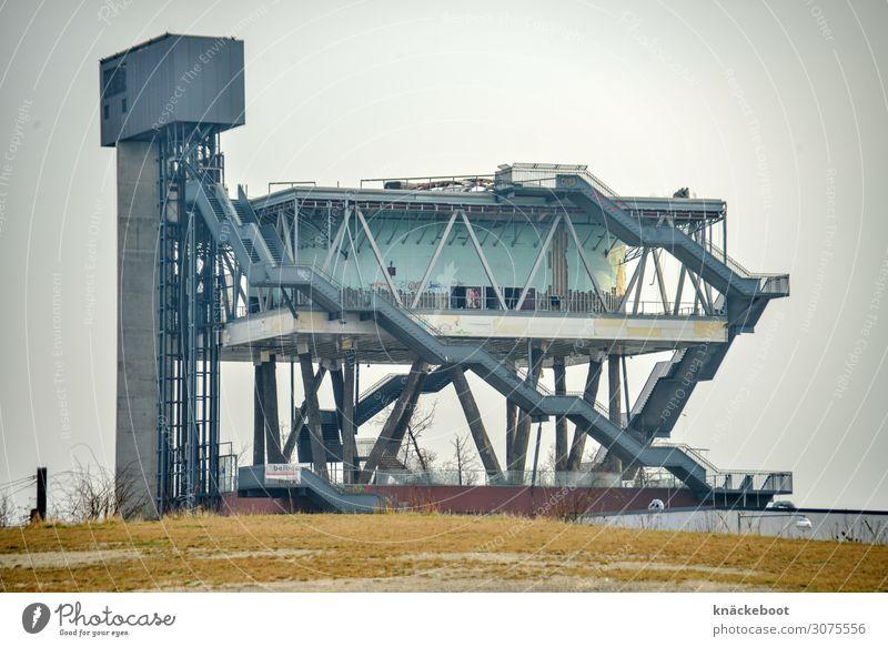 holland schafft raum - expo - 19 jahre später Kunst Ausstellung Architektur Bauwerk Gebäude Sehenswürdigkeit Beton Glas Stahl außergewöhnlich eckig frei Design