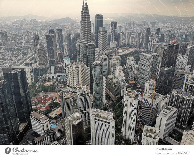 Kuala Lumpur Lifestyle Ferien & Urlaub & Reisen Tourismus Abenteuer Ferne Sightseeing Städtereise Stadt Skyline Hochhaus Turm Gebäude Architektur