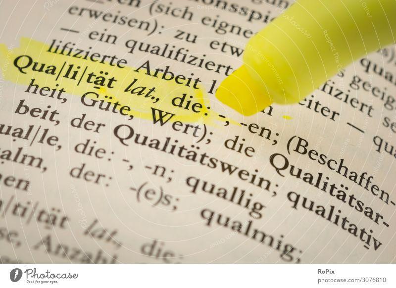 Qualität Lifestyle Design Freizeit & Hobby Bildung Wissenschaften Erwachsenenbildung Schule lernen Berufsausbildung Azubi Studium Arbeit & Erwerbstätigkeit