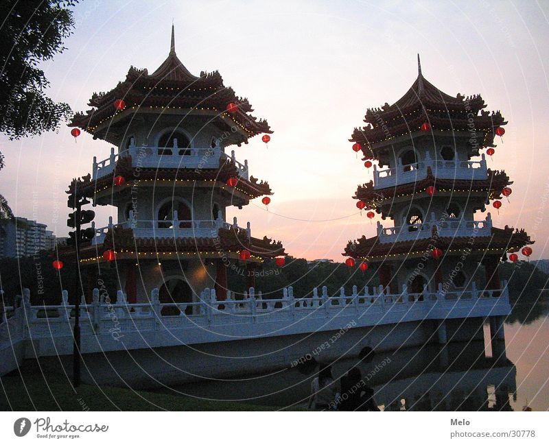 chinesischergarten II Garten Gebäude Erfolg China Singapore Pavillon Chinesischer Garten