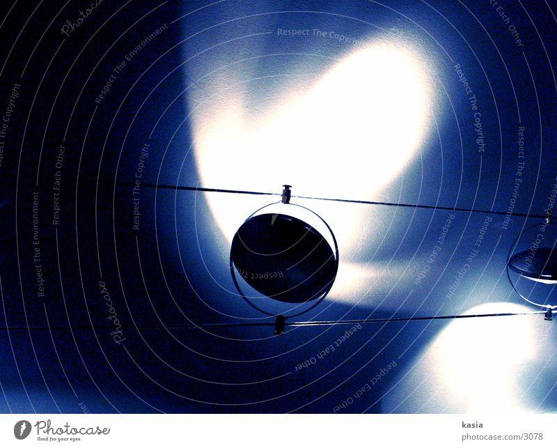 bluelämp_02 Lampe Licht Dinge blau