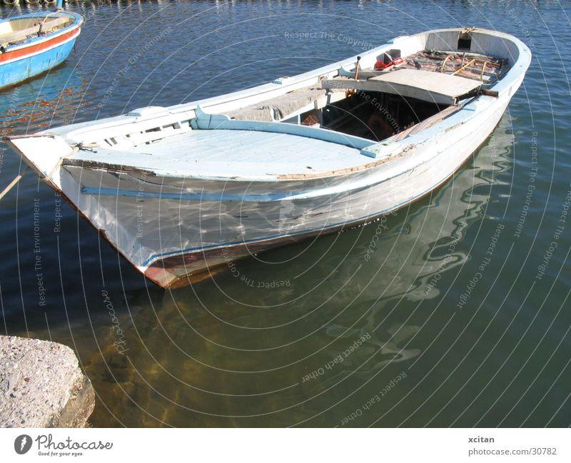 DreiMundBucht Wasser Sonne ruhig Wasserfahrzeug tief Schifffahrt Türkei