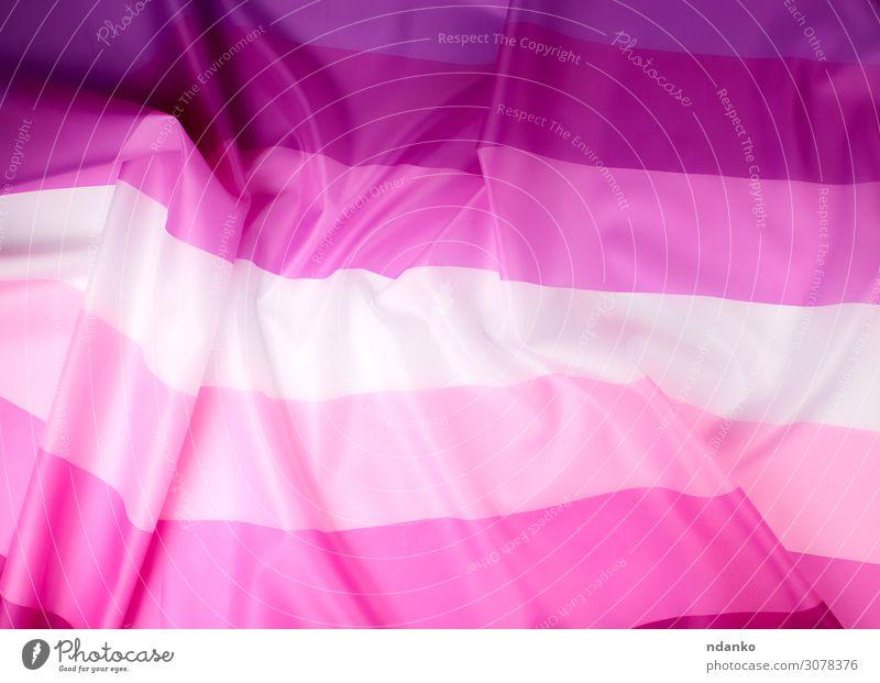 textile rosa Fahne von Lesben Lifestyle Lippenstift Freiheit Homosexualität Partner Kultur Liebe hell weich rot weiß Treue Toleranz Partnerschaft Farbe
