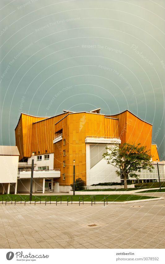Berliner Philharmonie Architektur avant garde Fassade hans scharoun Konzert Konzerthalle Konzerthaus Kultur Kulturforum Berlin Kunst Musik Tourismus