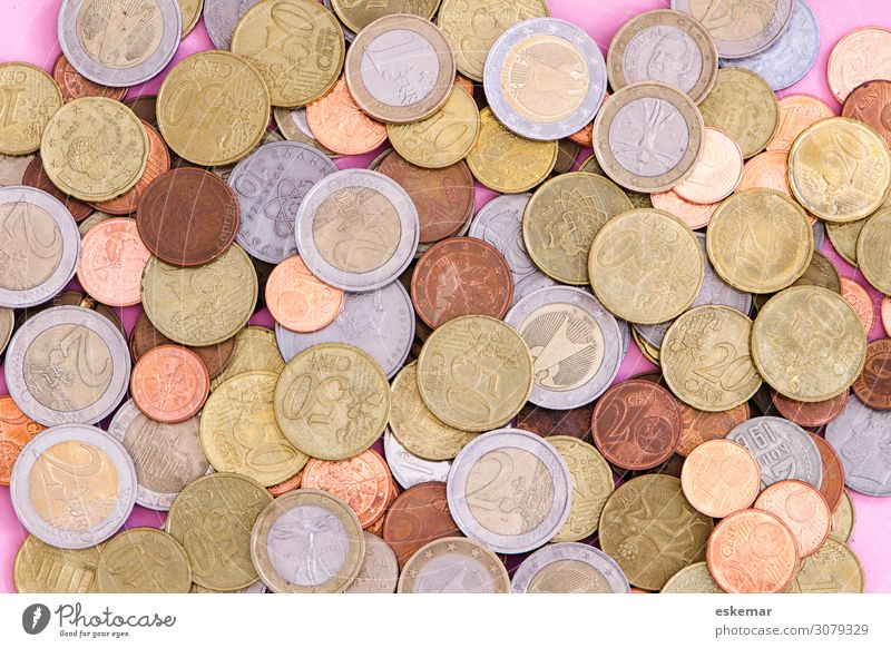 Geld Business kaufen viele Geldinstitut Reichtum reich Verschiedenheit sparen Kapitalwirtschaft Geldmünzen Börse sparsam Preisschild Einkommen Kredit
