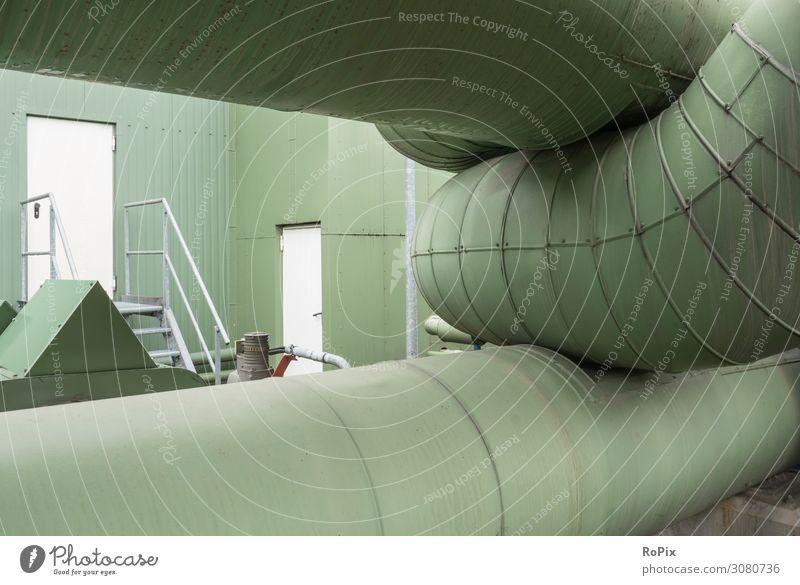 Industrielle Architektur. Stil Design Arbeit & Erwerbstätigkeit Büroarbeit Arbeitsplatz Wirtschaft Baustelle Energiewirtschaft Business Unternehmen