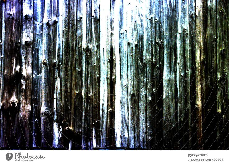 Die Bretter, die die Welt bedeuten Wand Holz Handwerk Zaun Baumstamm Holzbrett mystisch breit