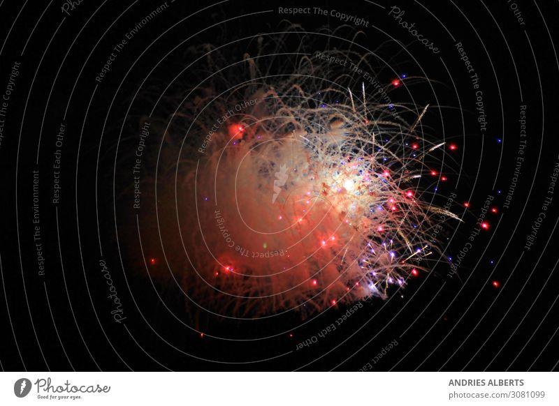 Feuerwerk der Feierlichkeiten Freude Ferien & Urlaub & Reisen Tourismus Nachtleben Entertainment Party Veranstaltung Feste & Feiern Karneval