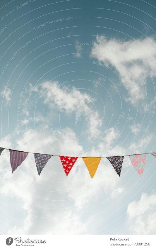 #A# Happy Day! Kunst ästhetisch Party Partygast Partystimmung Partyservice Partyraum Feierabend Feste & Feiern Feiertag Girlande mehrfarbig Farbfoto